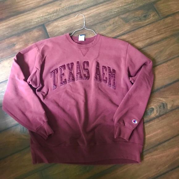 cc88753ce81a Champion Tops - Texas A M Aggie Classic Sweatshirt